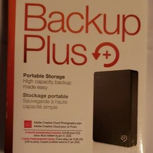 Seagate Backup 5TB  Portable External Hard Drive for sale